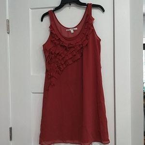 Lauren Conrad color short layer dress